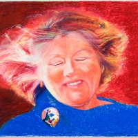 Penny Ramsay oil pastel
