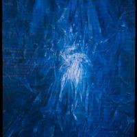 \'Christening\' acrylic on canvas 213x170cm