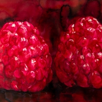 Raspberries dark