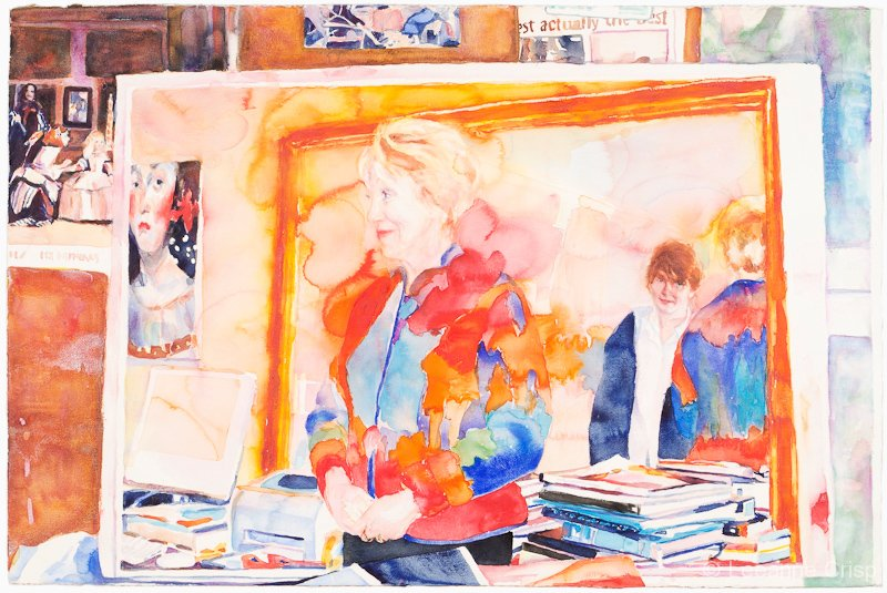 Still life about love and learning Portrait of Theresa Rayner
