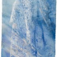 \'dress\' watercolour on canvas (ANU drawing Prize)