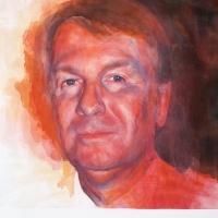 Portrait of an empathetic man